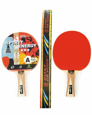 3 Star Table Tennis Paddle Spirit Energy