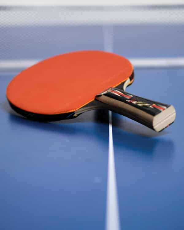 5 Star Table Tennis Paddle Collider Close Up