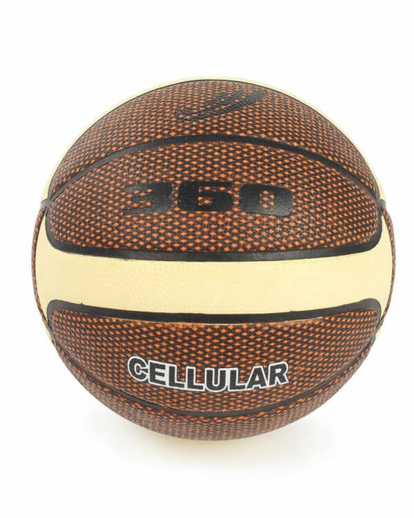 Cellular Composite Basketball Brown and Cream