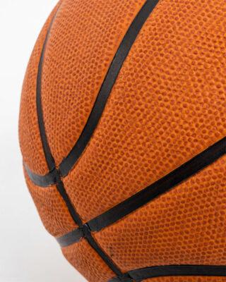Cellular Composite Basketball Orange Close Up