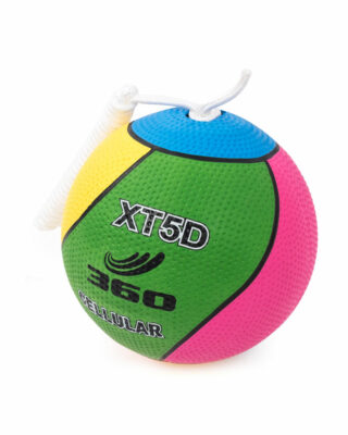 Cellular Tetherball Dimpled Side View
