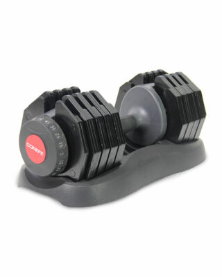 50 lb adjustable weighted dumbbell