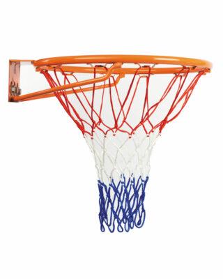 Economy Tri-Coloured Hesitation Replacement Basketball Net