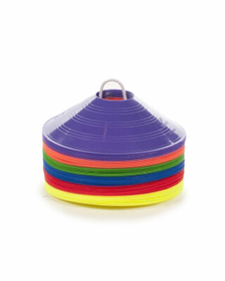 36 Rainbow Pack of Saucer Cones