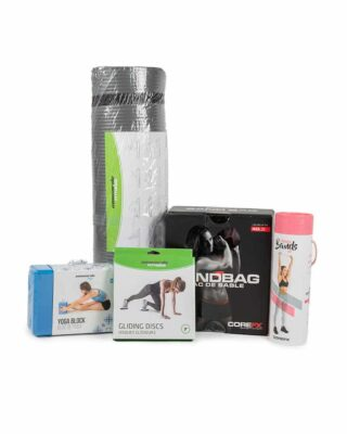 Fitness kit of multiple workout products