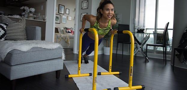 Lebert living room workout