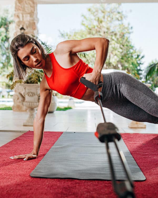 female athlete using the HyGear-1